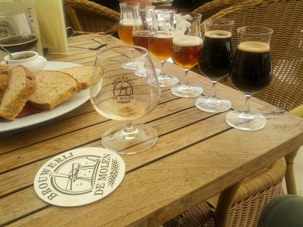 Having A Few Samples At De Molen