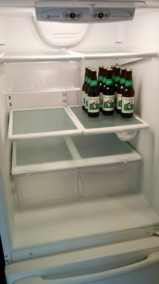 clean refrigerator